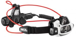 Petzl's new Nao headlamp with 700 max lumens and Reactive Lighting Technology.