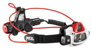 Petzl Nao+ Plus headlamp with 750 max lumens and Reactive Lighting Technology - new for 2017.