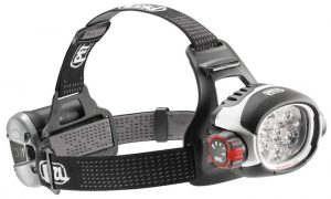 Petzl Ultra Rush headlamp with 760 lumens max output in 2017.