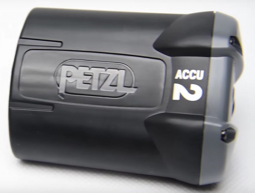 ACCU 2 battery for Petzl Ultra Rush headlamp