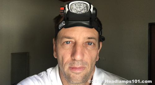 Petzl Ultra Rush work headlamp for many different work environments.